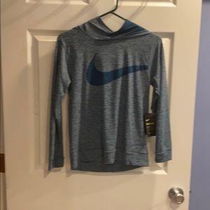 Boys Nike hooded t shirt